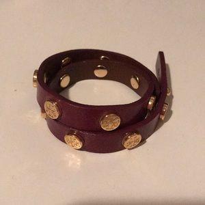 Tory Burch wrap around bracelet